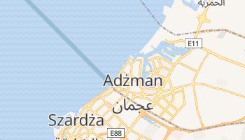 Adżman - szczegółowa mapa Google