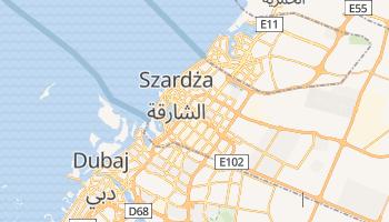 Szardża - szczegółowa mapa Google