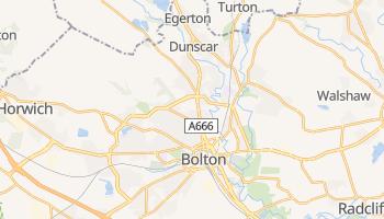 Bolton - szczegółowa mapa Google
