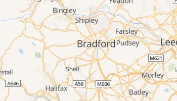 Bradford - szczegółowa mapa Google