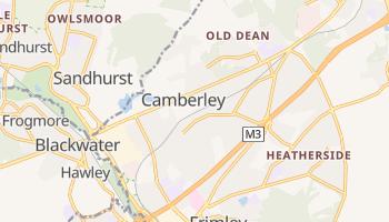 Camberley - szczegółowa mapa Google