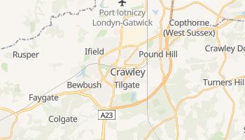 Crawley - szczegółowa mapa Google