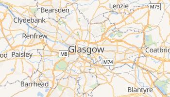 Glasgow - szczegółowa mapa Google
