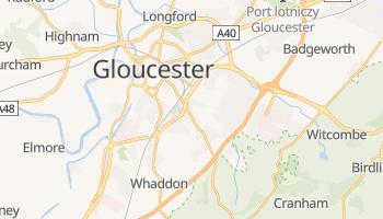 Gloucester - szczegółowa mapa Google