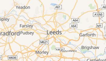 Leeds - szczegółowa mapa Google