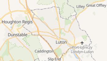 Luton - szczegółowa mapa Google
