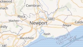Newport - szczegółowa mapa Google
