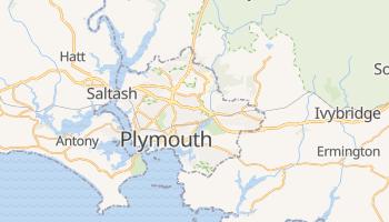 Plymouth - szczegółowa mapa Google