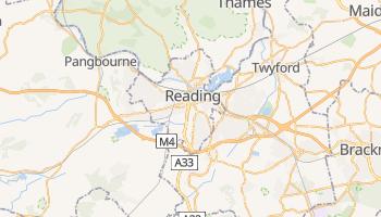 Reading - szczegółowa mapa Google