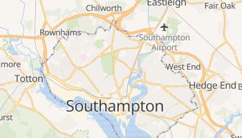 Southampton - szczegółowa mapa Google