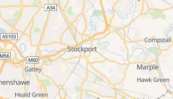 Stockport - szczegółowa mapa Google