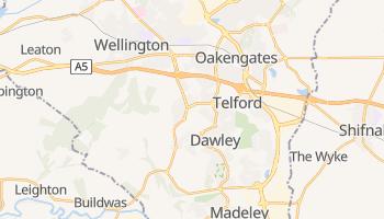 Telford - szczegółowa mapa Google