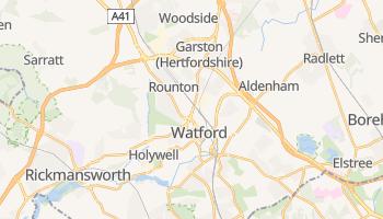Watford - szczegółowa mapa Google