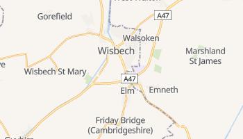 Wisbech - szczegółowa mapa Google