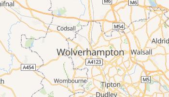 Wolverhampton - szczegółowa mapa Google