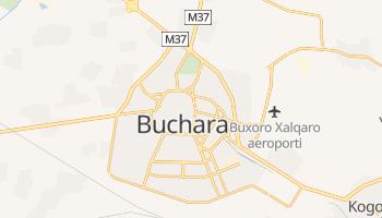 Buchara - szczegółowa mapa Google