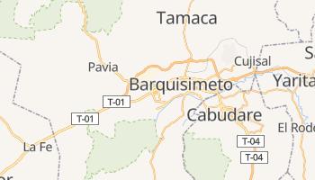 Barquisimeto - szczegółowa mapa Google