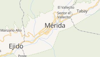 Mérida - szczegółowa mapa Google