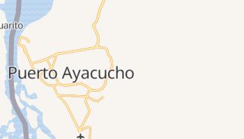 Puerto Ayacucho - szczegółowa mapa Google