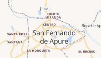 San Fernando de Apure - szczegółowa mapa Google