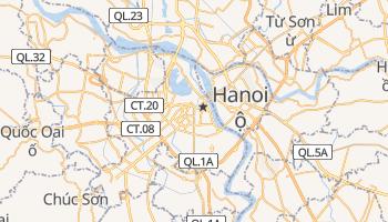 Hanoi - szczegółowa mapa Google