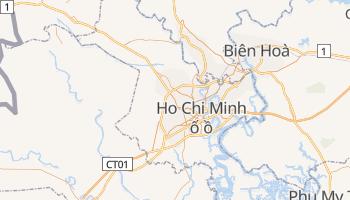 Ho Chi Minh - szczegółowa mapa Google