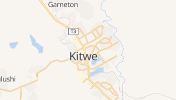 Kitwe - szczegółowa mapa Google