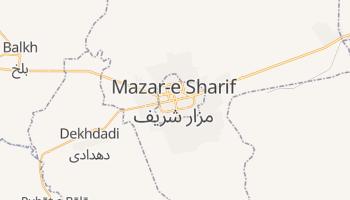 Mapa online de Mazar-e Sharif para viajantes