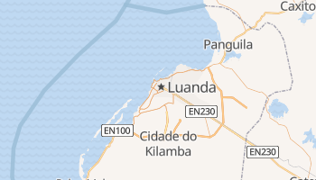 Mapa online de Luanda para viajantes