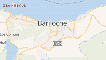 Mapa online de Bariloche para viajantes