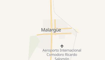 Mapa online de Malargüe para viajantes