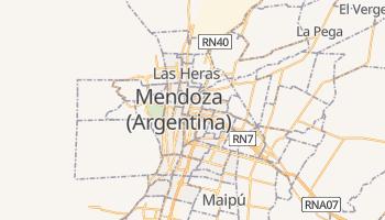 Mapa online de Mendoza para viajantes