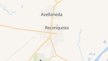 Mapa online de Reconquista para viajantes