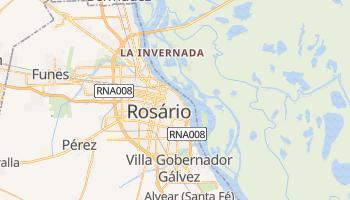 Mapa online de Rosario para viajantes