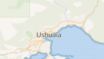 Mapa online de Ushuaia para viajantes
