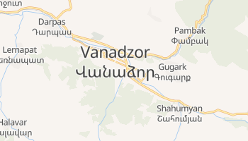 Mapa online de Vanadzor para viajantes