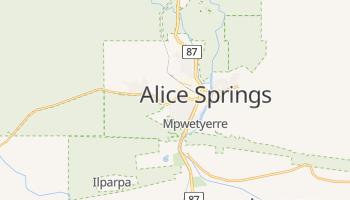 Mapa online de Alice Springs para viajantes