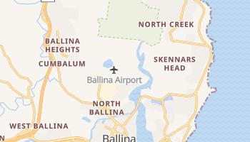 Mapa online de Ballina para viajantes