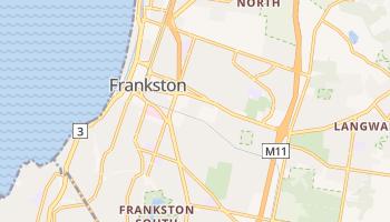 Mapa online de Frankston para viajantes