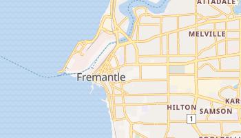 Mapa online de Fremantle para viajantes