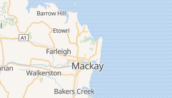 Mapa online de Mackay para viajantes