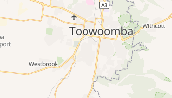 Mapa online de Toowoomba para viajantes