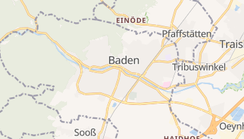 Mapa online de Baden para viajantes