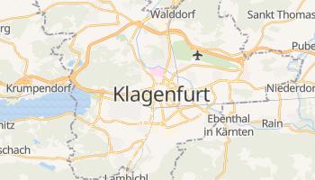 Mapa online de Klagenfurt para viajantes
