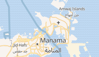 Mapa online de Al Muharraq para viajantes