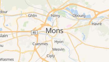 Mapa online de Mons para viajantes