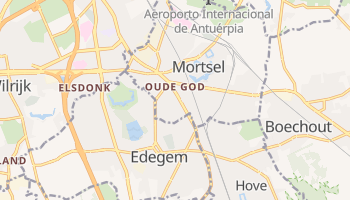 Mapa online de Mortsel para viajantes