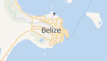 Mapa online de Belize para viajantes