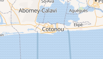 Mapa online de Cotonou para viajantes