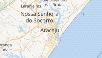 Mapa online de Aracaju para viajantes